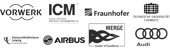 Airbus, Fraunhofer Institute, Audi, Vorwerk, ICM